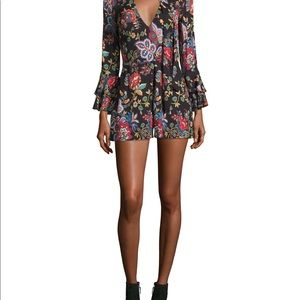 Alice And Olivia romper with bell sleeves